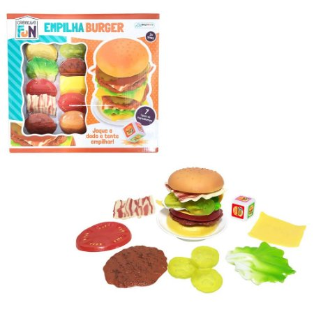 Empilha Burguer Creative Fun - Multikids