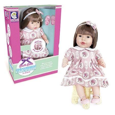 Boneca Bebê Bate Palminhas - Cotiplás