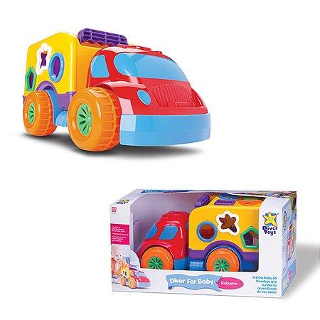 Caminhão com Encaixes -  Robustus Baby