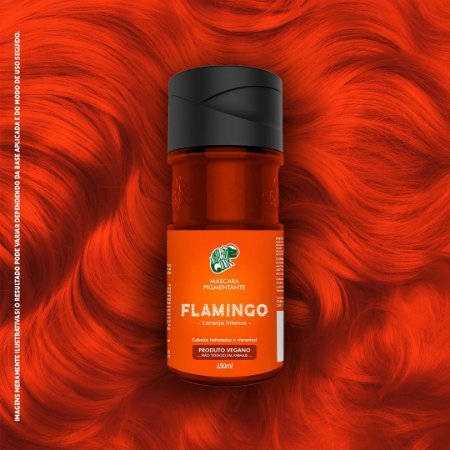 KAMALEÃO COLOR MÁSCARA PIGMENTANTE FLAMINGO 150ML