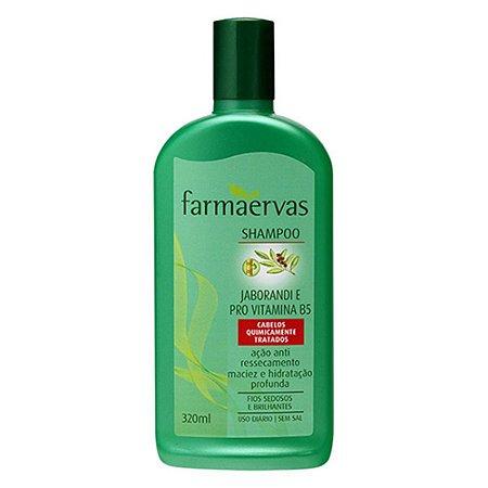 FARMAERVAS SHAMPOO JABORANDI E PRÓ VITAMINA B5 320ML