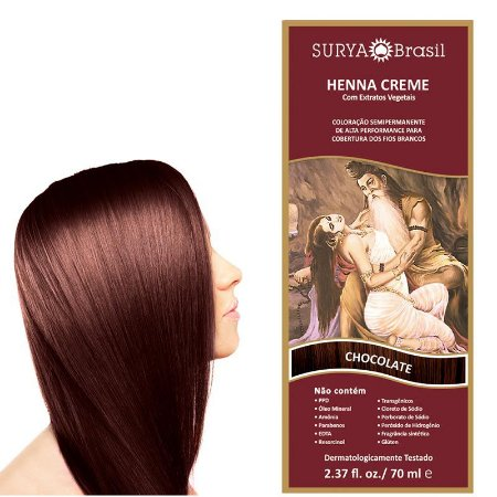 SURYA HENNA CREME CHOCOLATE 70ML