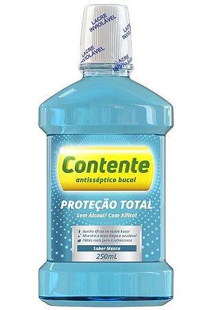 CONTENTE ANTISSÉPTICO BUCAL PROTEÇÃO TOTAL MENTA 250ML