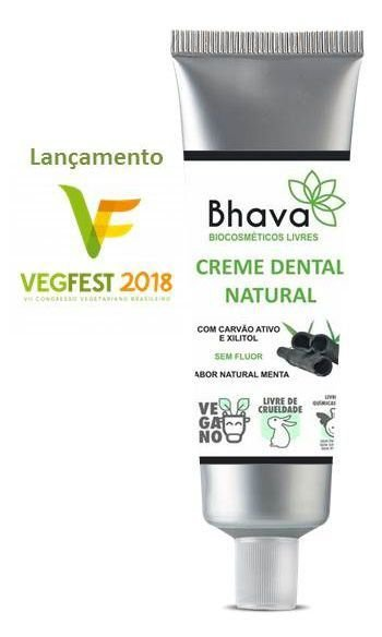 BHAVA CREME DENTAL NATURAL 85gr