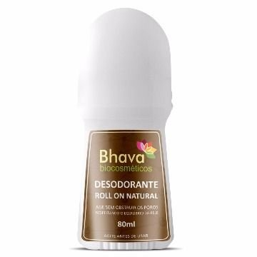 BHAVA DESODORANTE ROLL ON NATURAL 80ml