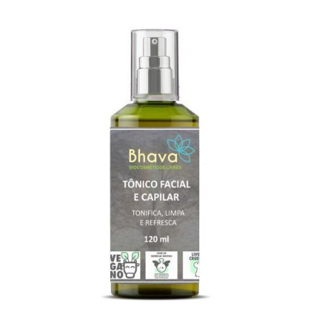BHAVA TÔNICO FACIAL E CAPILAR NATURAL 120ml