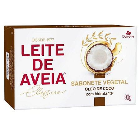DAVENE SABONETE LEITE DE AVEIA ÓLEO DE COCO 90g