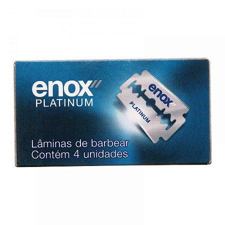 ENOX LÂMINA DE BARBEAR (CARTUCHO C/ 4 UN)