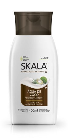 SKALA CREME HIDRATANTE ÁGUA DE COCO 400ml