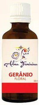 ALMA FEMININA FLORAL DE GERÂNIO 30ml