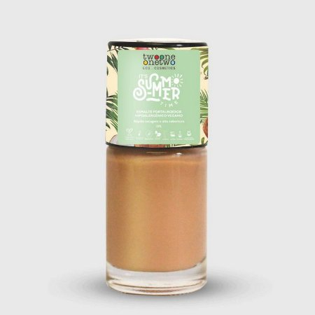 TWO ONE ONE TWO ESMALTE IT´S SUMMER TIME HIPOALERGÊNICO NUDE 10ml