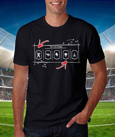 Camiseta - Faça sua Escolha! - Fred Vasquez - Cor Preta