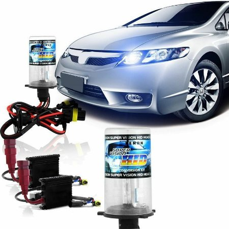 Kit Xenon Carro 4300k 6000k 8000k 10000k