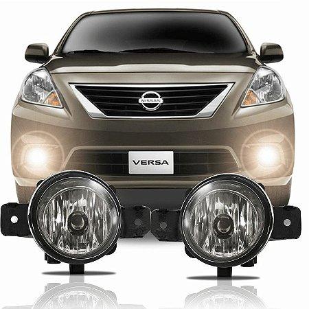 Kit Farol de Neblina/ Milha Nissan Versa 2011/ 2014