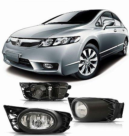 Kit Farol de Neblina/ Milha Honda New Civic 2009 a 2011
