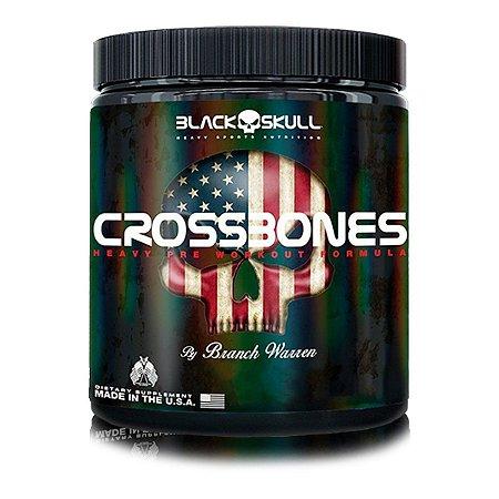 Crossbones - BLACK SKULL