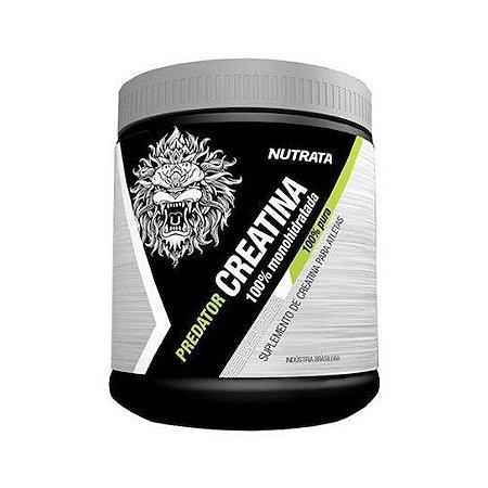 Predator Creatina 100% Monohidratada - NUTRATA