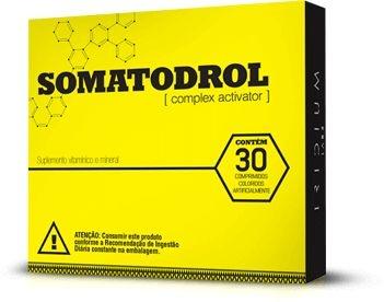 Somatodrol - 30 comprimdos - Iridium Labs