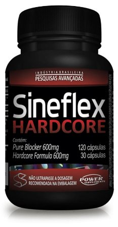 Sineflex Hardcore - 150 Cápsulas - Power Suplements