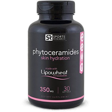 Phytoceramides 350mg 30 liquid softgels - Frete Economico