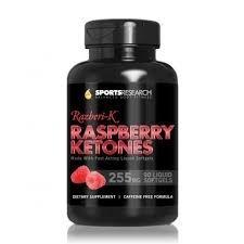 Raspberry Ketones 90 Liquid Softgels - Pronta Entrega
