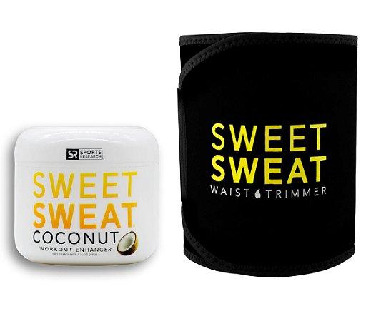 Sweet Sweat Coconut 99g + Cinta de Neoprene - Frete Econômico