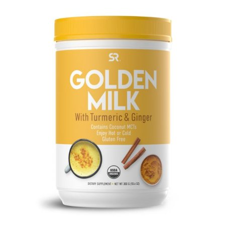 Golden Milk 30 servings 300g SPORTS Research - FRETE ECONÔMICO