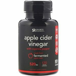 Apple Cider Vinegar 520mg 120s - FRETE GRÁTIS