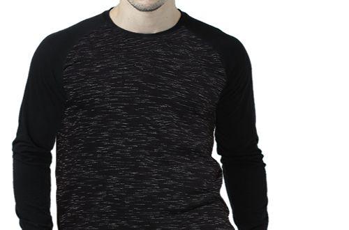 Camiseta Gola Raglan Masculina Modelo 6 Manga Longa