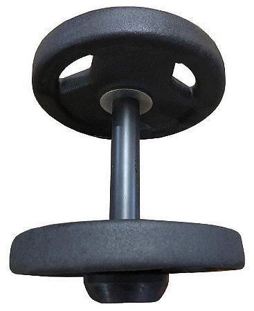 Dumbbell Sport Texturizado com pegada emborrachada - Opção a escolher  a partir de 12 kilos até 40 kilos