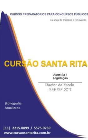 Apostila DIRETOR DE ESCOLA SEE/SP 2017