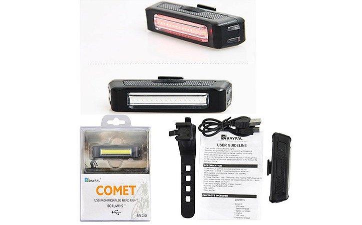 Farol Traseiro e Dianteiro Comet USB
