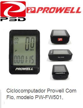 Ciclo Computador Prowell FC 501