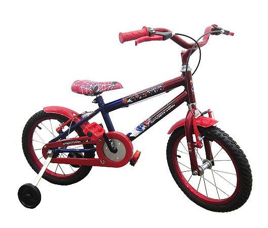 710b88910 Bicicleta Infantil 16 Homem Aranha - Bike Stop