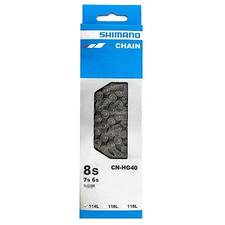 Corrente Shimano CN-HG40 6s-7s-8s