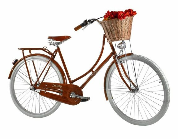 Bicicleta Vintage Retrô - Ísis Plus Light Wood