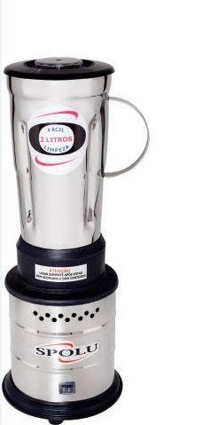 Liquidificador Industrial Alta Rotação 02 Litros