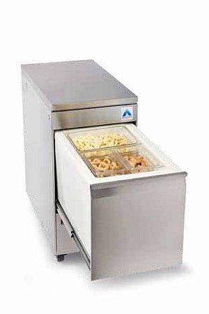 Refrigerador gaveta Top box vertical