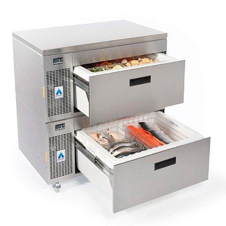 Gaveta refrigerada / freezer top box horizontal