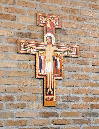 Cruz de São Damião HD - disponível para grandes peças