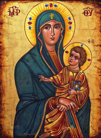Salus Populi Romani - Ícone da JMJ - Sem Moldura Impressa