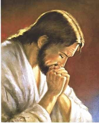 Ícone Jesus Orando