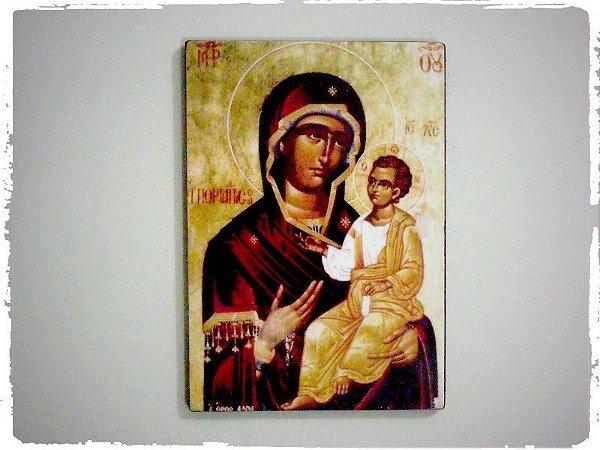 Ícone Maria Porta do Céu Tradicional