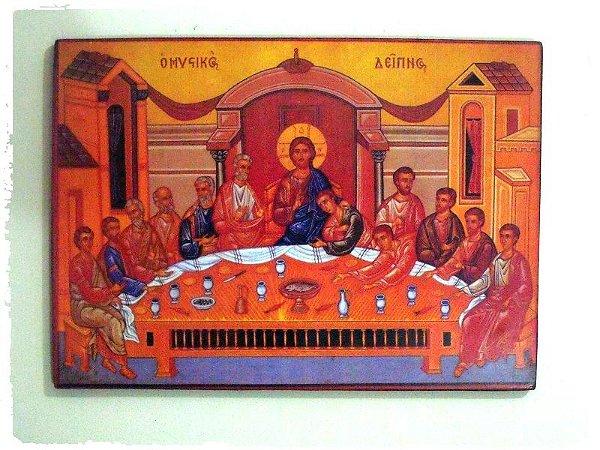 Ícone Santa Ceia
