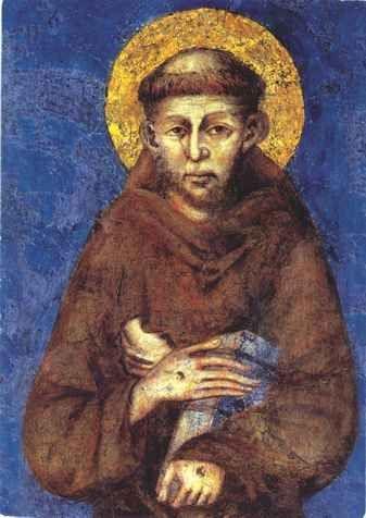 Ícone São Francisco de Assis de Cimabue