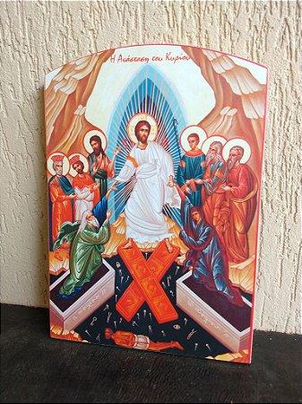 Ícone da Descida à Mansão dos Mortos - Sábado Santo