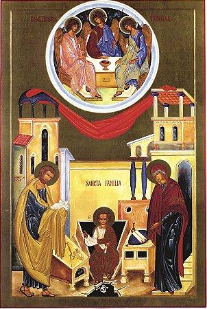 Ícone Santa Família de Nazaré