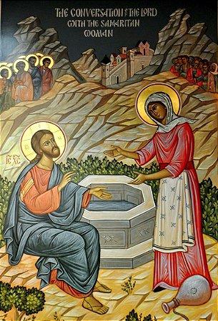Jesus e a Samaritana