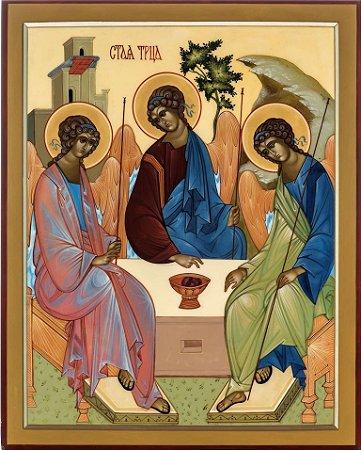 Ícone Santíssima Trindade - 2