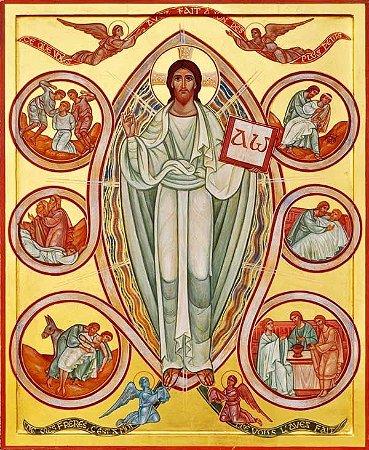 Cristo Ressuscitado Alfa & Ômega
